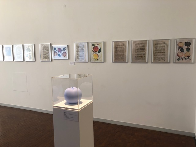 Ausstellungsansicht Feine Früchtchen, Museum im Prediger, Schwäbisch Gmünd