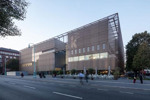 Neubau der Kunsthalle Mannheim © Kunsthalle Mannheim, HG Esch