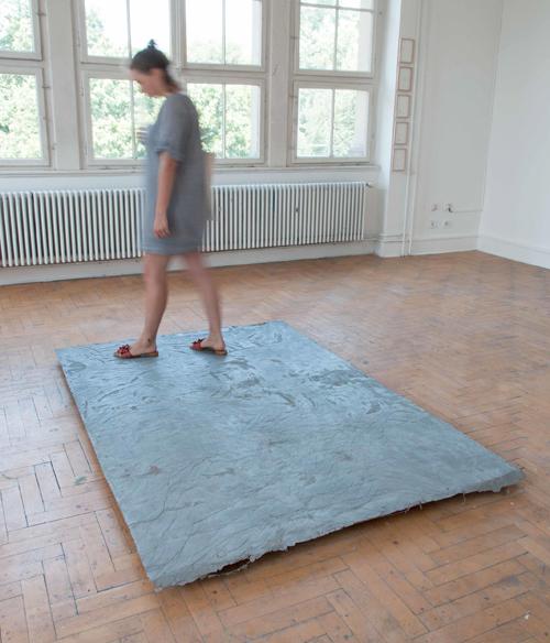 Eva Gentner / Adrian Nagel, ebenen (Gewirk), 2017