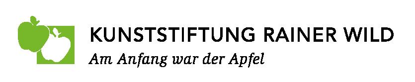 Neues Logo der Kunststiftung Rainer Wild