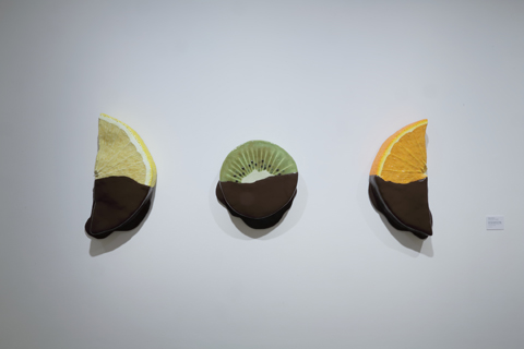 Peter Anton, Chocoalete dipped lemon/kiwi/orange slice