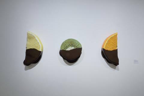 Peter Anton, Chocoalete dipped lemon/kiwi/orange slice