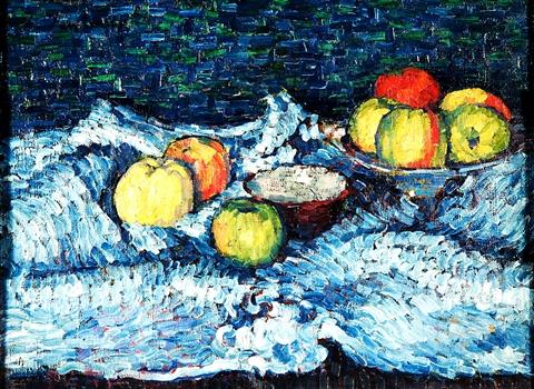 Alexej von Jawlensky, Stillleben mit Äpfeln, 1905