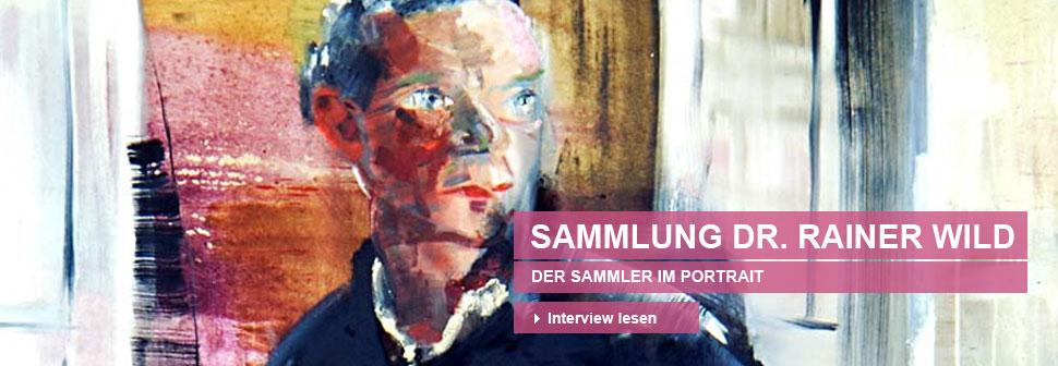 Sammlung Dr. Rainer Wild. Der Sammler im Porträt