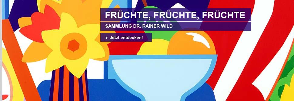 Früchte, Früchte, Früchte. Sammlung Dr. Rainer Wild